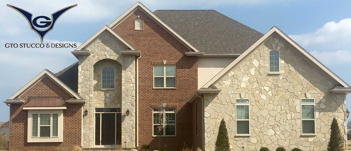 Gto stucco design is a full service stucco eifs and for Stone and stucco home designs